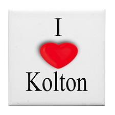 Kolton Tile Coaster