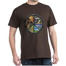 Wheel of the Year Tee (Dark)