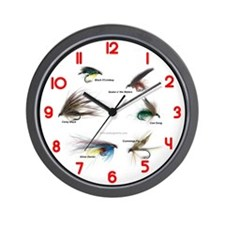 Fishing Time (clocks) Wall Clock