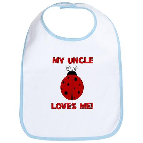 My Uncle Loves Me! LADYBUG Bib