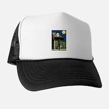 Black Cat at Shop Trucker Hat