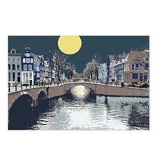 Amsterdam at Night Postcards (Package of 8)