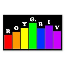 'Roy G. Biv' Decal