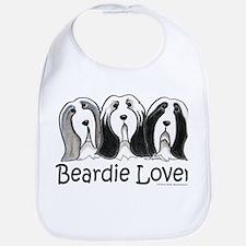 Beardie Lover Bib