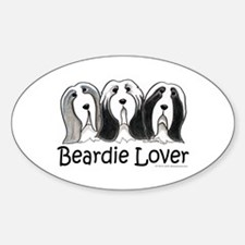 Beardie Lover Decal