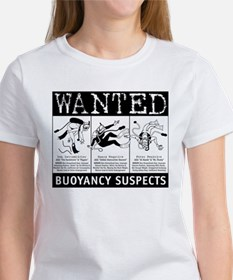 Buoyancy Suspects Scuba Women's T-Shirt