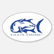 Ulua Tribe Sticker (Oval)