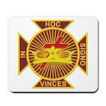Masonic York Rite (KT) Mousepad