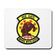 Red Hats Mousepad