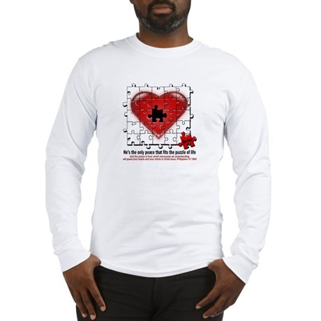heart of peace Long Sleeve T-Shirt