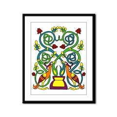 Celtic Tree of Life Framed Panel Print