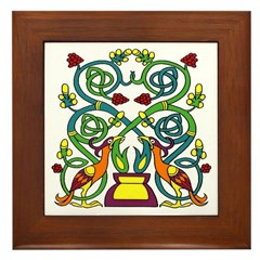 Celtic Tree of Life Framed Tile