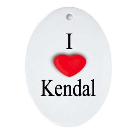Kendal Oval Ornament