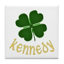 Irish Kennedy Tile Coaster