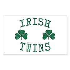 Irish Twins Decal