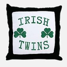 Irish Twins Throw Pillow