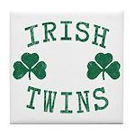 Irish Twins Tile Coaster