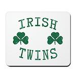 Irish Twins Mousepad