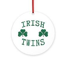 Irish Twins Ornament (Round)