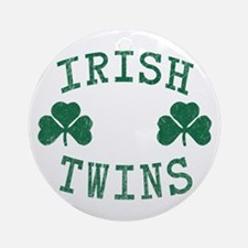 Irish Twins Ornament (Round)