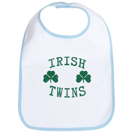 Irish Twins Bib