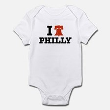 I Love Philly Infant Creeper