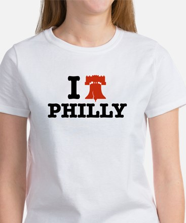 I Love Philly Women's T-Shirt
