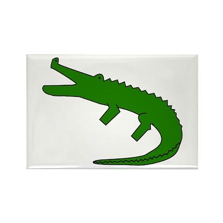 Alligator Rectangle Magnet (100 pack)