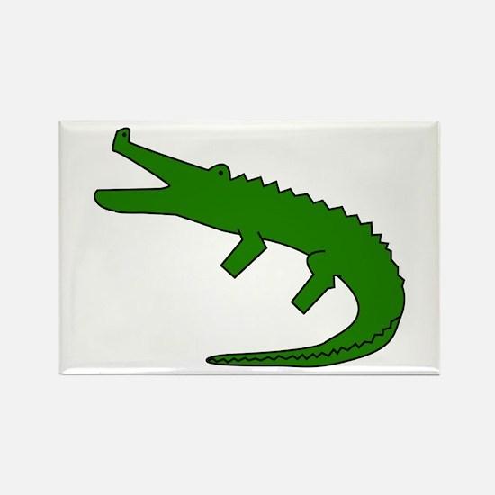 Alligator Rectangle Magnet