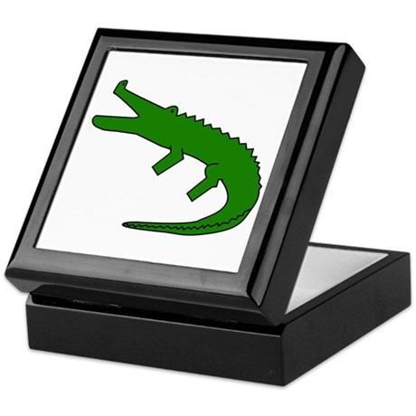 Alligator Keepsake Box