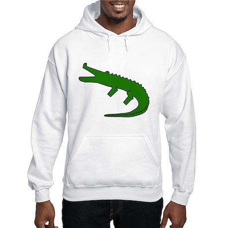 Alligator Hooded Sweatshirt