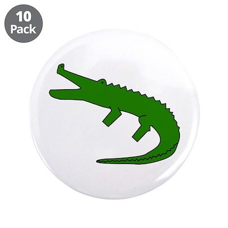 """Alligator 3.5"""" Button (10 pack)"""