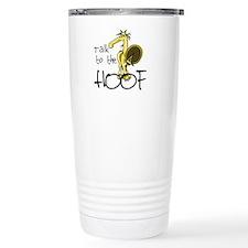Talk to the Hoof Travel Coffee Mug