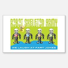 Robot Skeleton Army Decal
