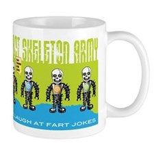 Robot Skeleton Army Mug
