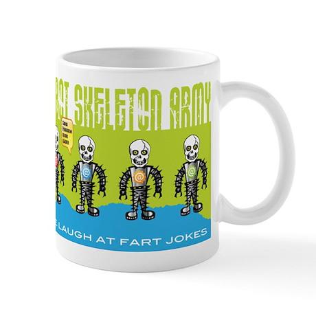Robot Skeleton Army Mug Mugs