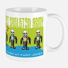 Robot Skeleton Army Mug Mugs