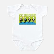 Robot Skeleton Army Infant Bodysuit
