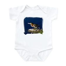 Green-backed Heron Infant Bodysuit