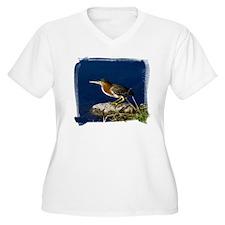 Green-backed Heron T-Shirt