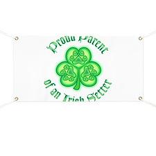 Proud Parent of an Irish Setter Banner