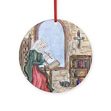 Scribe Ornament (Round)