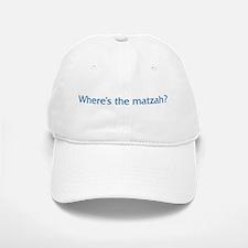 Where's The Matzah Baseball Baseball Cap