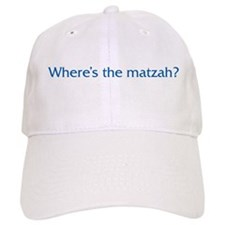 Where's The Matzah Baseball Cap