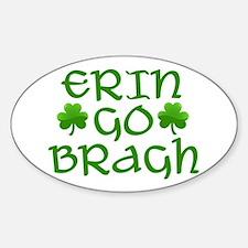 ERIN GO BRAGH Sticker (Oval)