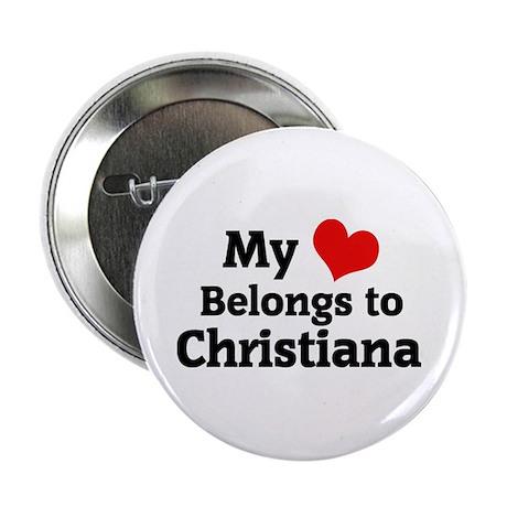 My Heart: Christiana Button