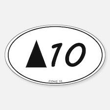 Cone 10 pottery sticker