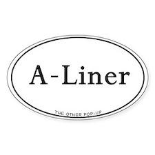 A-Liner Camper sticker
