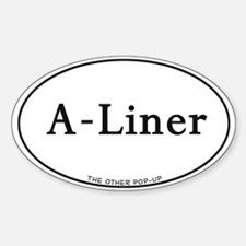 A-Liner Camper sticker