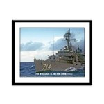 USS WILLIAM R. RUSH Framed Panel Print